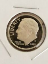 2018-S PROOF ROOSEVELT DIME CLAD DEEP CAMEO PROOF
