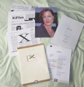 X-Files Season 2 Press Pack