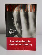 """Marcel JEAN """"Au galop dans le vent"""" J.P. de Monza, 1991. Envoi a.s. de l'auteur."""