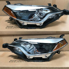 Headlights Headlamp Replacement Assembly for 2014 2015 2016 Toyota Corolla