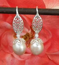 SÜßWASSER Perlen Ohrhänger in 925er Silber