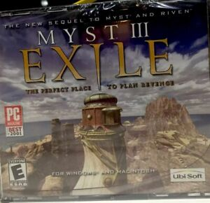 MYST III Exile CD Game - NEW Shrinkwrapped - PC Game