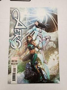 Aero #1 - Jay Anacleto Incentive Variant (1:50) - Marvel Comics (2019)