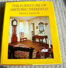 RARE book FURNITURE OF HISTORIC DEERFIELD Dean Fales HUGE REFERENCE 1700s PHTOS