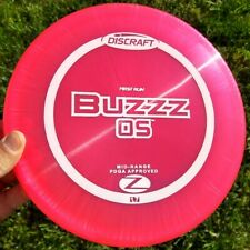 New! First Run Discraft Elite Z Buzzz Os - 178 grams, Pearly, Flat!