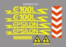 Sticker, aufkleber, decal - EPSILON E110 E120 E125 E250 - Z Plus All model
