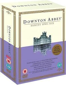Downton Abbey - Series 1-6 (DVD, Boxset)