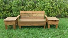 Pallet Furniture Handcrafted Matching Side Tables
