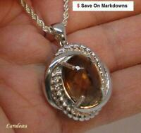 16 ct Whisky Topaz Pendant *