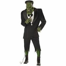 Big Frank Frankenstein Monster Adult Mens Fancy Dress Halloween Costume One Size