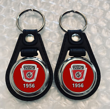 FORD F-100 KEYCHAIN SET 1956 TRUCK RED