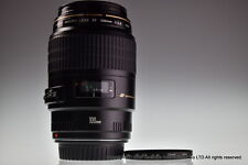 * Near MINT * Canon EF 100mm f/2.8 Macro USM