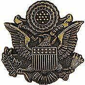 "Quality, Expertly Designed Pin - 1.125"" Usa Seal Gold Emblem - Premium"