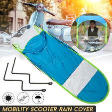 Universal Car Motor Scooter Blue Umbrella Outdoor Mobility Sun Shade Rain Cover