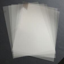 10 x A4 clear pvc 220 micron stencil acetate film sheets for reusable stencils