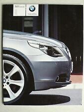 Prospekt BMW 5er E 60 Limousine (520i, 525i, 530i, 545i, 530d) 2.2003, 42 Seiten