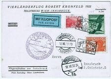 Wipa 1933 Robert Kronfeld Flight Austria