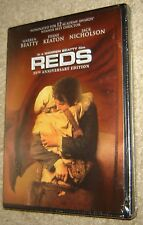 Reds (DVD, 2006, 2-Disc Set, 25th Anniversary Edition/ Checkpoint), new & sealed