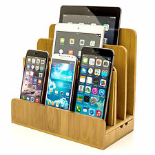 Bamboo Charging Station For Laptops Phones and Gagdets stylish and elegent