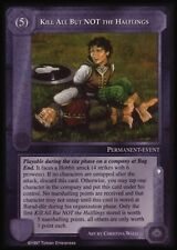 MECCG CCG Middle-earth Kill All But Not the Halflings The Lidless Eye LE MINT