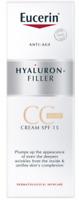 Eucerin Hyaluron Filler CC CREAM LIGHT SPF15 New & Boxed Exp: 04/2020