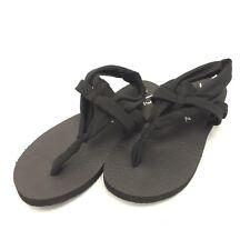 Sketchers Black Yoga Foam Sling Thong Sandals Womens Size 6 - Flip Flops