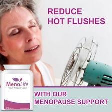 MENOLIFE MENOPAUSE PILLS TABLETS HERBAL REMEDY STOP SWEATS IRRITABILITY FAST