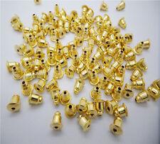 Wholesale New DIY 6x5mm 100pcs Bullet Plug Back Findings Earring Stoppers PICK U