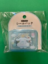 Sanrio Japan: Cinnamoroll Stickers With Plastic Blue Case (B4)
