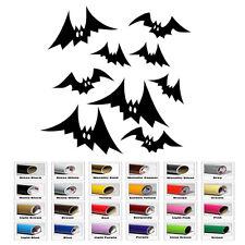 Flying Bats Halloween Decal fo Car Window Bumper Wall Window Door Laptop Sticker