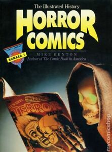 Illustrated History of Horror Comics HC #1-1ST FN 1991 Stock Image