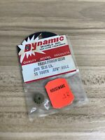 *VNTG NIP* DYNAMIC MODELS SLOT CAR RACING 15T TOOTH BRASS PINION GEAR #810 - OEM