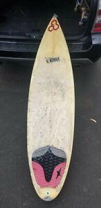 """6'3"""" Al Merrick 3 fin Shortboard"""