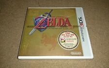 The Legend Of Zelda Ocarina Of Time Nintendo 3DS Pre-Sale Gold Box NO GAME! NEW