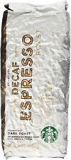 Starbucks Decaf Espresso Roast, Whole Bean Coffee (1lb)