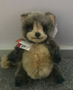 Raccoon Eike Plush Bear BNWT