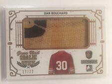 2017 Stickwork Dan Bouchard /22 Game Used Goalie Stick ITG Leaf SP
