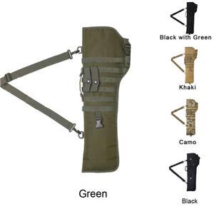 Tactical Rifle Scabbard Military Holster Gun Protection Carrier Shotgun Bag
