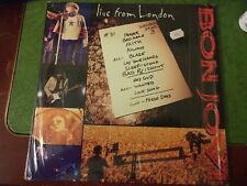 "BON JOVI - Live from London 1995 12"" LaserDisc Near NEW - mmoetwil@hotmail.com"