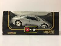 Rare Bburago Bugatti EB110 (1991) Code 3045 Die Cast Model Scale 1:18 Dimonds
