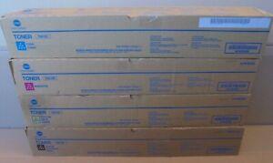 Genuine Konica Minolta TN619C TN619M TN619Y TN619K Toners CMYK PRESS C1060 C1070