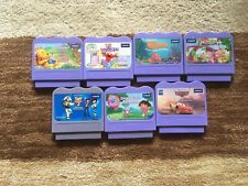 VTech VSmile 7 Cartridge Lot! Elmo, Toy Story 2, Cars, Finding Nemo, and More!