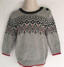 Baby GAP Boy's Gray Sweater Size 12-18 Mo NWT