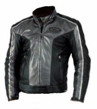 Ladies Leather Motorcycle Motorbike Scooter Jacket Spyke Size 40