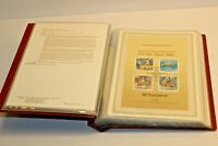Album of German Stamps Vintage Postdienst 1992