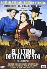 THE LAST OUTPOST Cavalry Charge (1951) **Dvd R2** Ronald Reagan, Rhonda Fleming