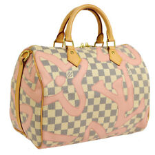 LOUIS VUITTON SPEEDY BANDOULIERE 30 2WAY HAND BAG DAMIER AZUR AK31364d