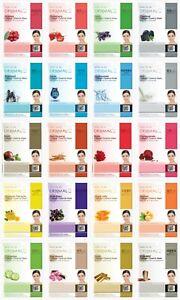 Dermal Korea 20 pack Collagen Essence Full Face Facial Mask Sheet