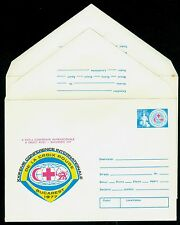 1977 Red Cross,23rd Intl. Conference,Bucharest,Nurse,child,Romania,cover variety