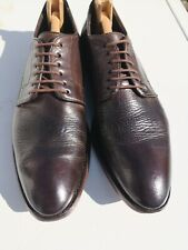 Mens PAUL SMITH 100% Leather, Dark Brown Lace-up Derby Shoes UK 9 (43).
